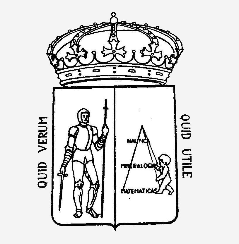 Escudo antiguo del Instituo Jovellanos
