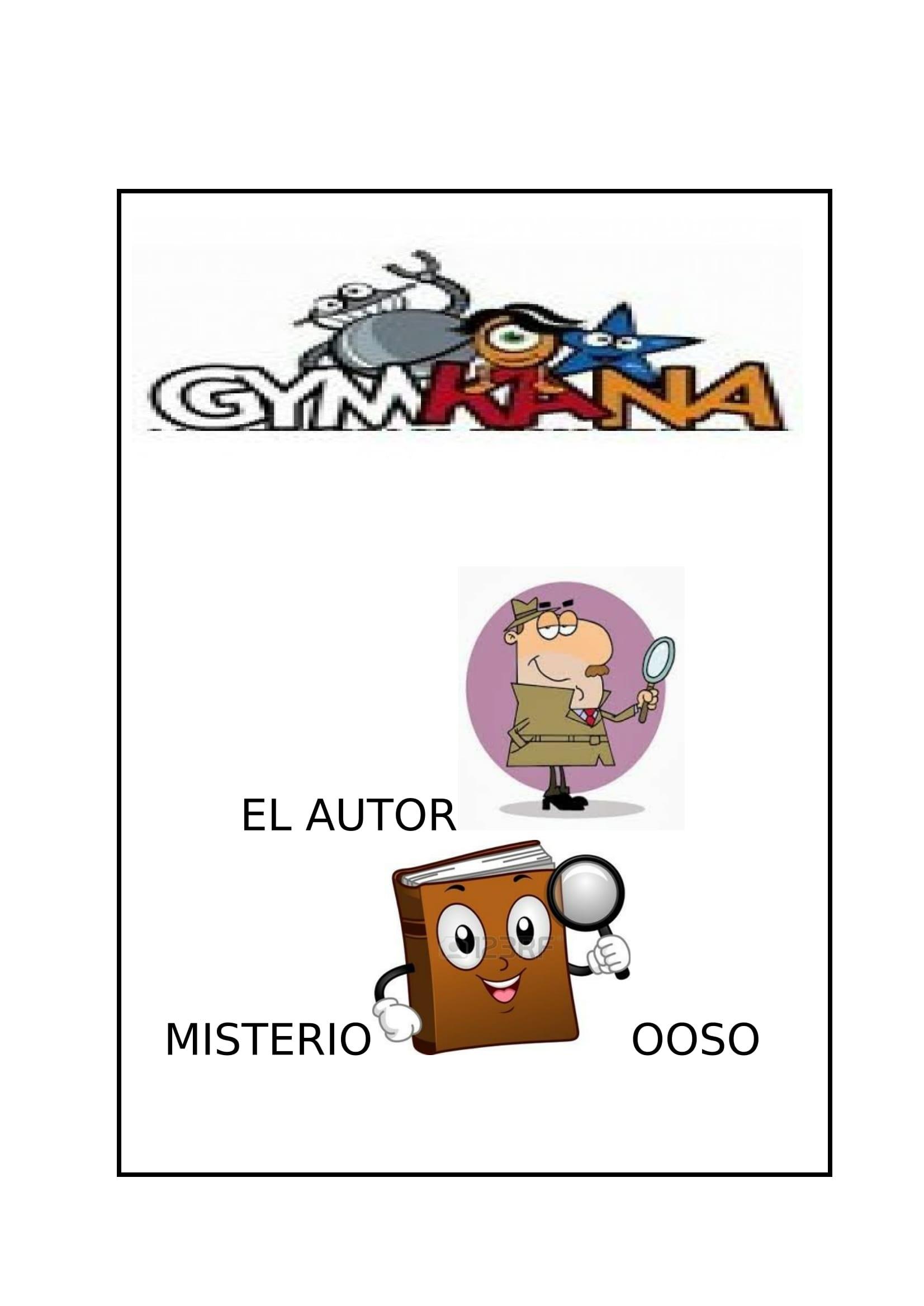 II Gymkana: El Autor Misterioso