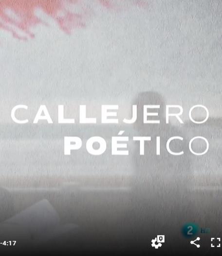 """Videorreportaje sobre el Proyecto del Centro """"Gijón Callejero Poético""""que emitió RTVE en el programa """"Página Dos"""""""
