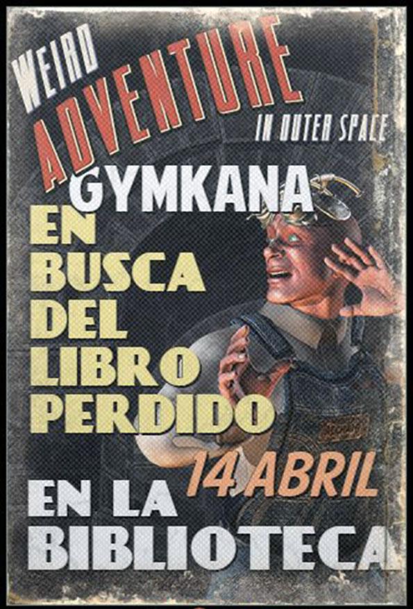 Gymkhana: En busca del libro perdido