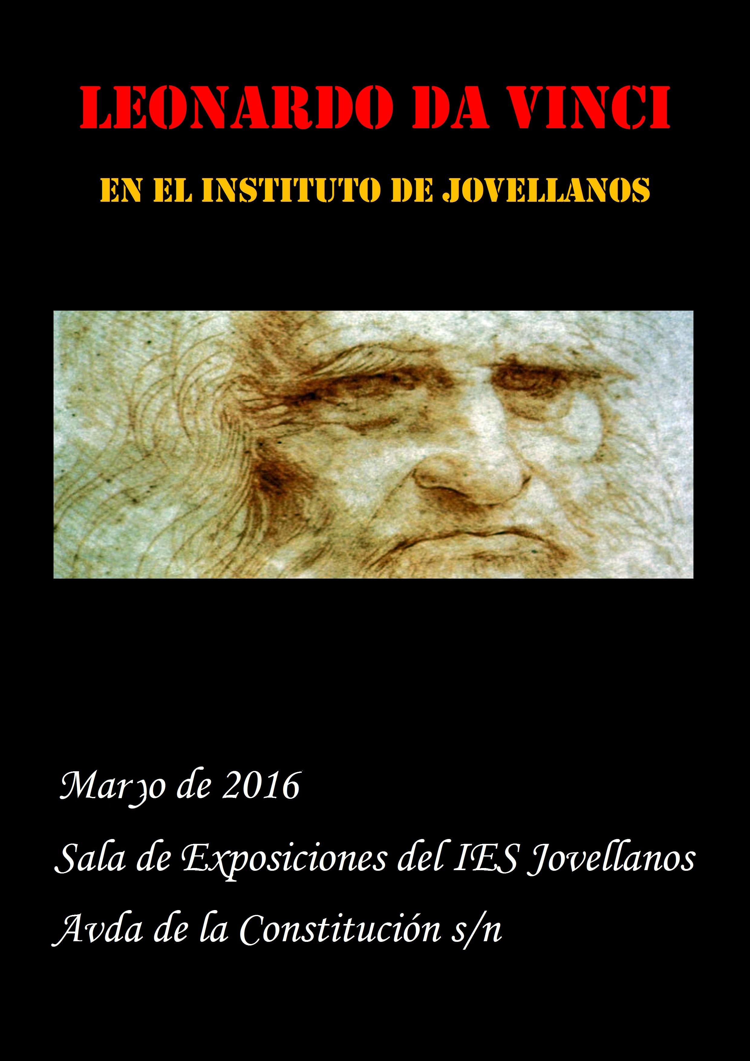 Exposición Leonardo Da Vinci. Maquetas realizadas por los alumnos de diversificación dirigidos por el profesor D. Manuel Santiago